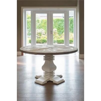 Stół Obiadowy 140cm/ Crossroads Round Dining Table-1687