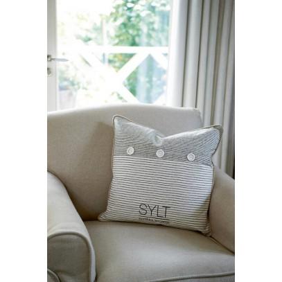 Poszewka Sylt/ Sylt Salty Shore P.Cover 50x50 blac