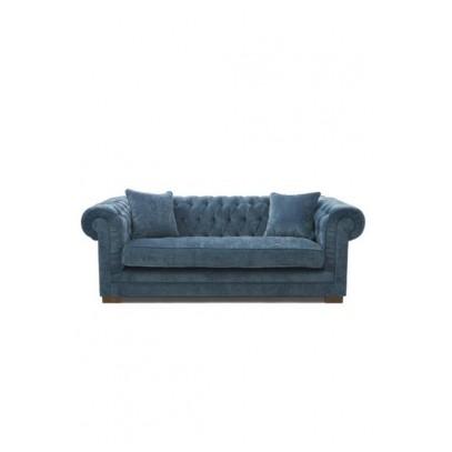 Sofa 3 os. /Crescent Avenue Sofa 3s, velvet indigo