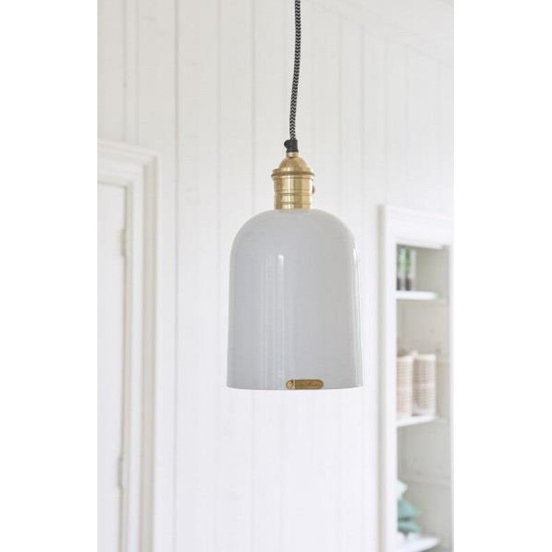 Lampa Cogotte Biała / Coqotte Hanging Lamp white-2614