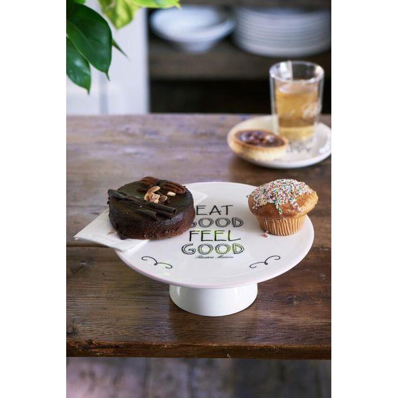 Patera Porcelanowa Na Ciasto / Eat Good Cake Stand-2620