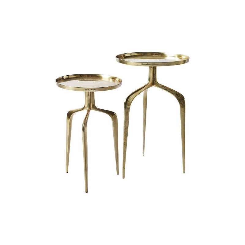 Stolik Boczny Faubourg End Table Gold 42 cm-2780
