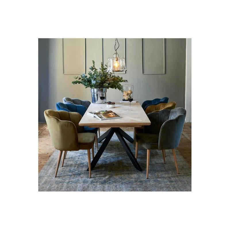 Stół Obiadowy Stuart Dining Table, 210x90 cm-2795
