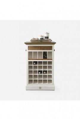 Szafka na wino / Driftwood Wine Cabinet 73x40x115 -1258