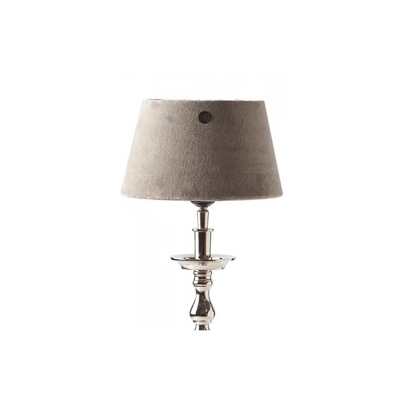 Abażur RM / Velvet Fab. Flax Lampshade 15x20 cm-2271