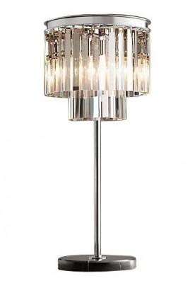 LAMPA STOŁOWA ILUMINATION ŚR.35X66CM TRANSP.