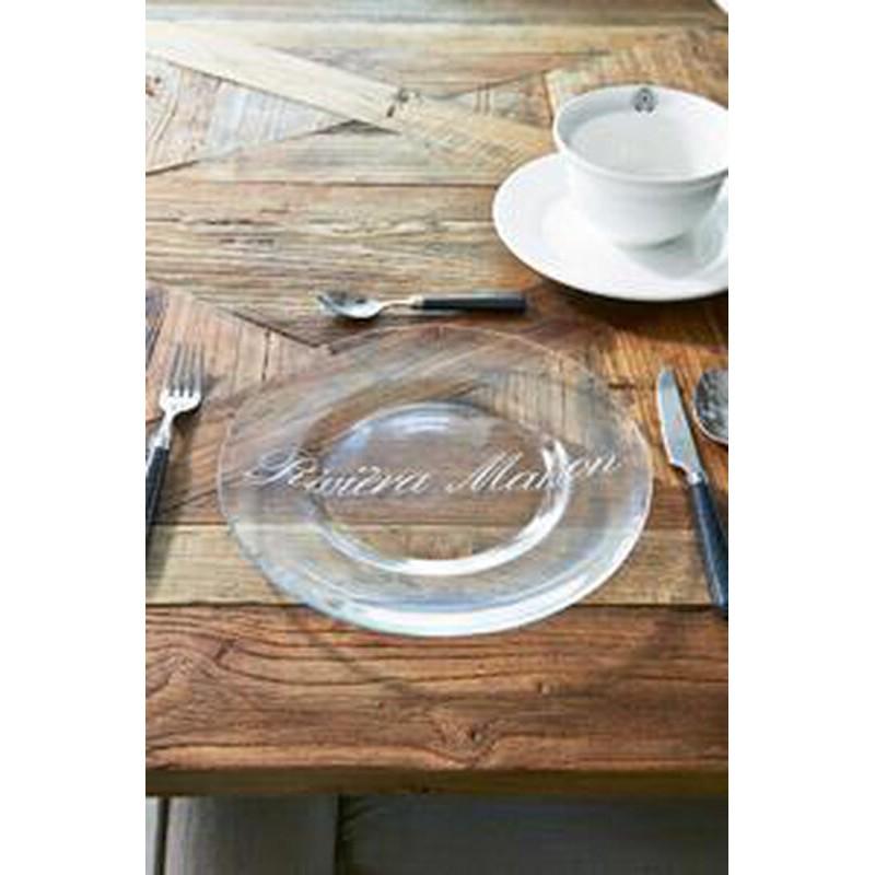 Talerz szklany RM 27cm / RM Glass Plate 27cm-86