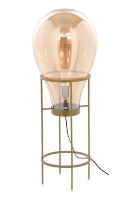 LAMPA PODŁOGOWA FLAME CHAMPAGNE XL