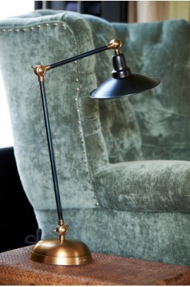 Lampa Biurkowa Soho / Soho Square Desk Lamp Black-2502