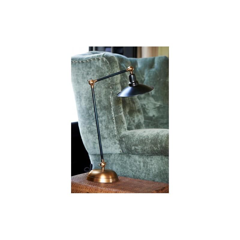 Lampa Biurkowa Soho / Soho Square Desk Lamp Black-2502