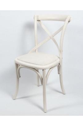 Krzesło Bari  białe 1 Belldeco