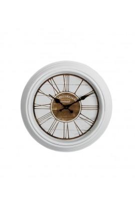 Zegar AMSTERDAM Biały 30 cm