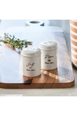 Zestaw: Solniczka i Pieprzniczka Love Salt&Pepper