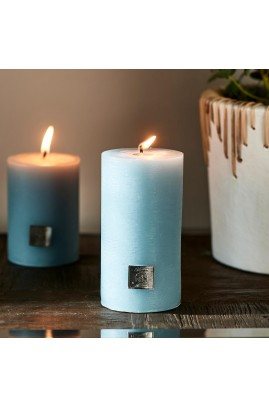 Świeca Blue 7x13 / Rustic Candle Riviera Maison