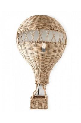 Lampa Ścienna BALON Rattanowy