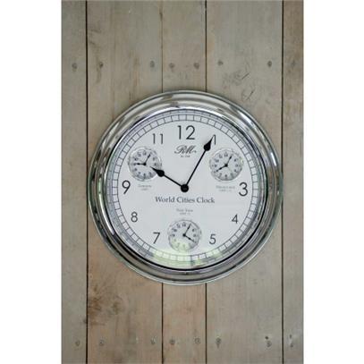 Zegar / World Cities Clock Riviera Maison-9