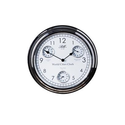 Zegar / World Cities Clock Riviera Maison-11