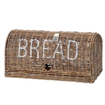 Chlebak rattanowy RM / Rustic Rattan Bread Box-1369