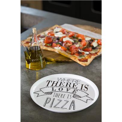 Love Pizza Plate / Talerz Na Pizzę-1388
