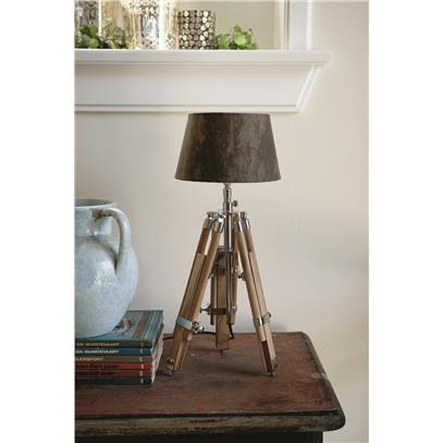 Classic Tripod Lamp Teak S-867