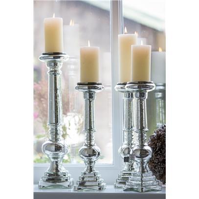 Świecznik Harold L / Harold Square Candle Holder L-787