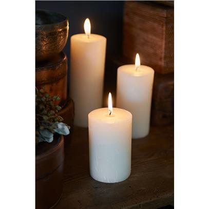 Świeca Ivory 7x10 / Rustic Candle Basic Ivory 7x10