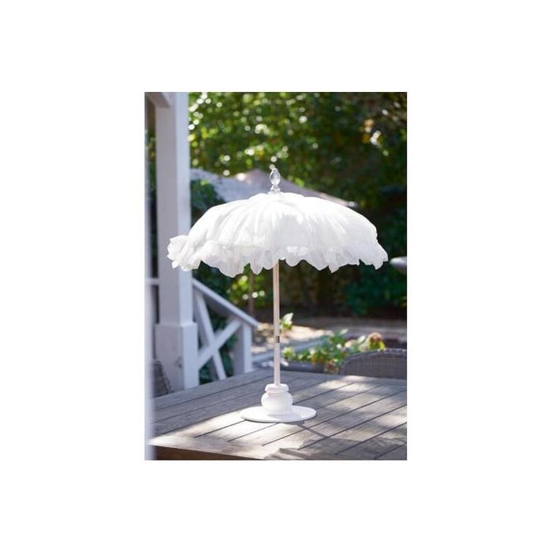 Parasolka Bahia / Bahia Beach Table Umbrella white-206