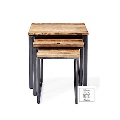 Stoliki boczne zestaw/Shelter Island End Table S/3-823