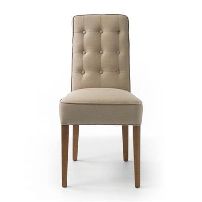 Krzesło Cape Breton Linen Flax Riviera Maison