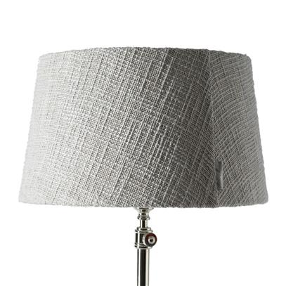 Abażur Classic Lampshade Grey 20x35 cm-2294
