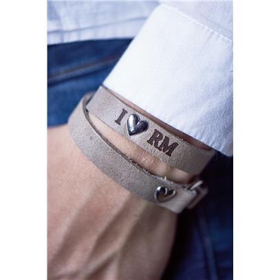 Bransoletka / RM Heart Wrap Around Bracelet Sand-1673
