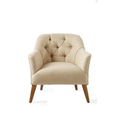 Fotel Melville / Melville Fauteuil linen Flax
