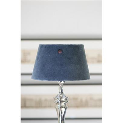 Abażur RM / Velvet Clams Grey Lampshade 15x20 cm-2272