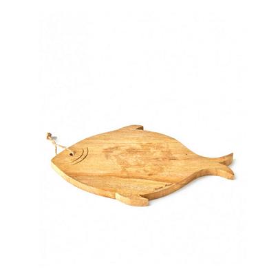 Deska Drewniana Happy Fish Cutting Board