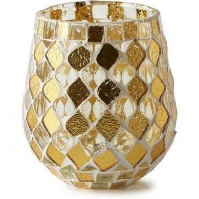 Lampion Złoty Mozaikowy Magic Mosaic S-2699