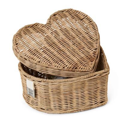 Pudełko Rattanowe Serce Happy Heart Riviera Maison-3291