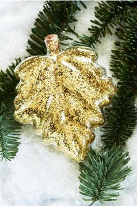 Dekoracja złoty liść / Vermont Decoration Leaf L