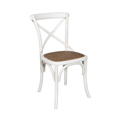 Krzesło Bari biały/natur Belldeco