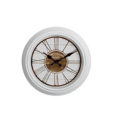Zegar AMSTERDAM Biały 30 cm-3135