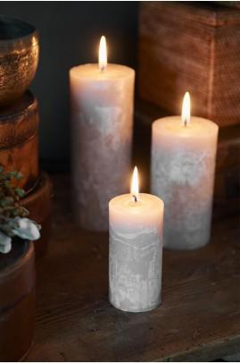 Świeca Sand 5x10 / Rustic Candle Desert Sand 5x10