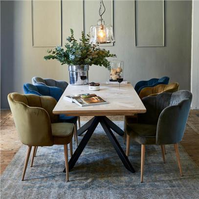 Stół Obiadowy Stuart 210x90 cm Riviera Maison-2795