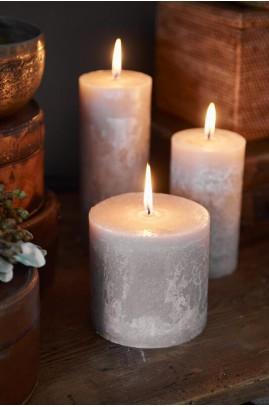 Świeca Sand 10x10/ Rustic Candle Desert Sand 10x10