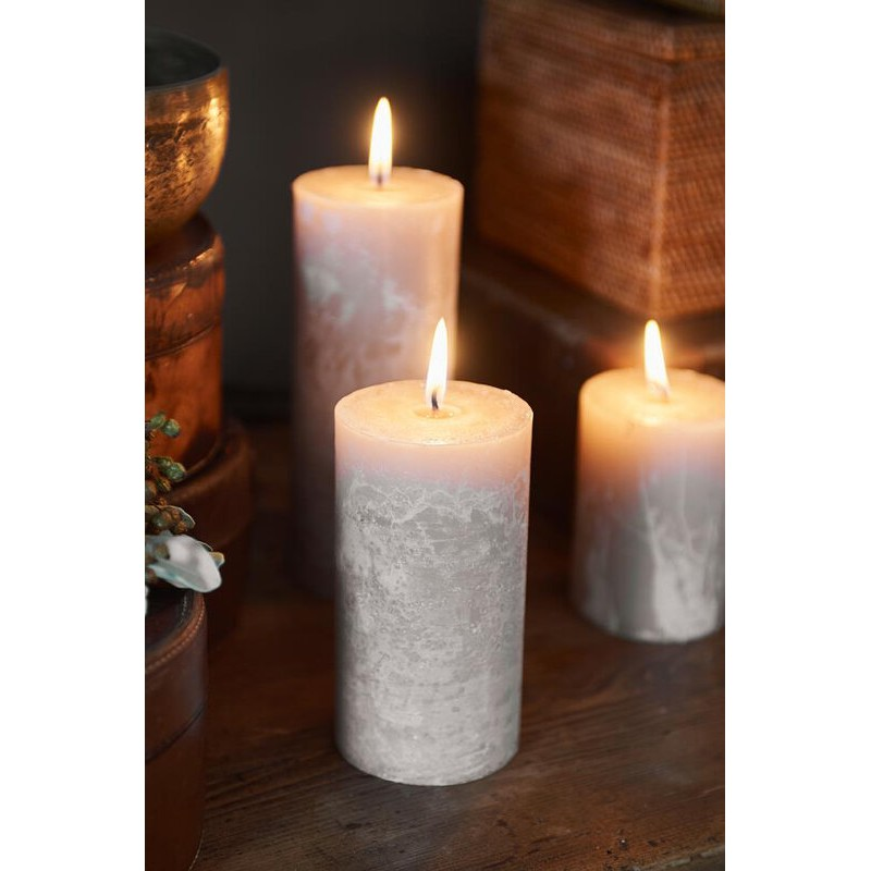 Świeca RM Sand/ Rustic Candle Desert Sand 7x13-705