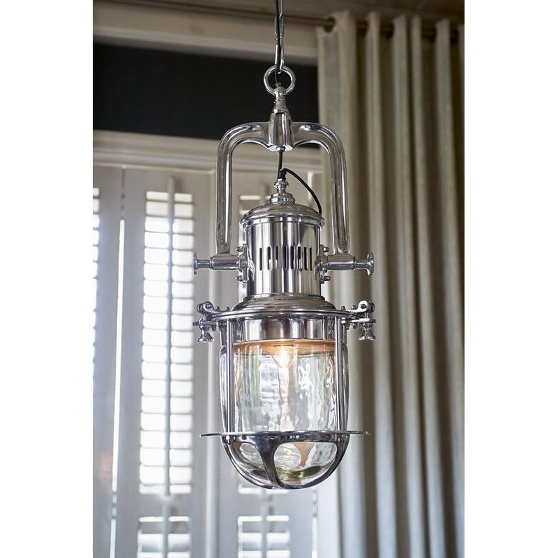 Lampa latarnia / Boathouse Hanging Lamp-698