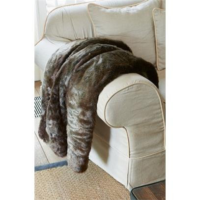Pled futrzany / Silk Sable Faux Fur Throw 180x130-942