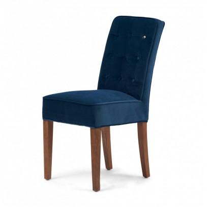 Krzesło Cape Breton Velv Ocean Blue Riviera Maison