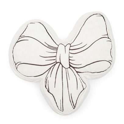 Poduszka Kokarda Ballad Mauve Bow Pillow White-3597