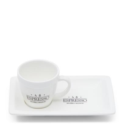 Filiżanka   Talerzyk RM 48 Espresso Riviera Maison-3590