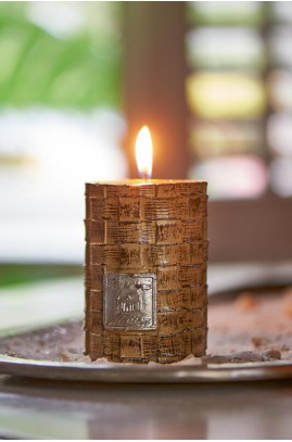 Świeca / Rustic Straight Weave Candle 7x10