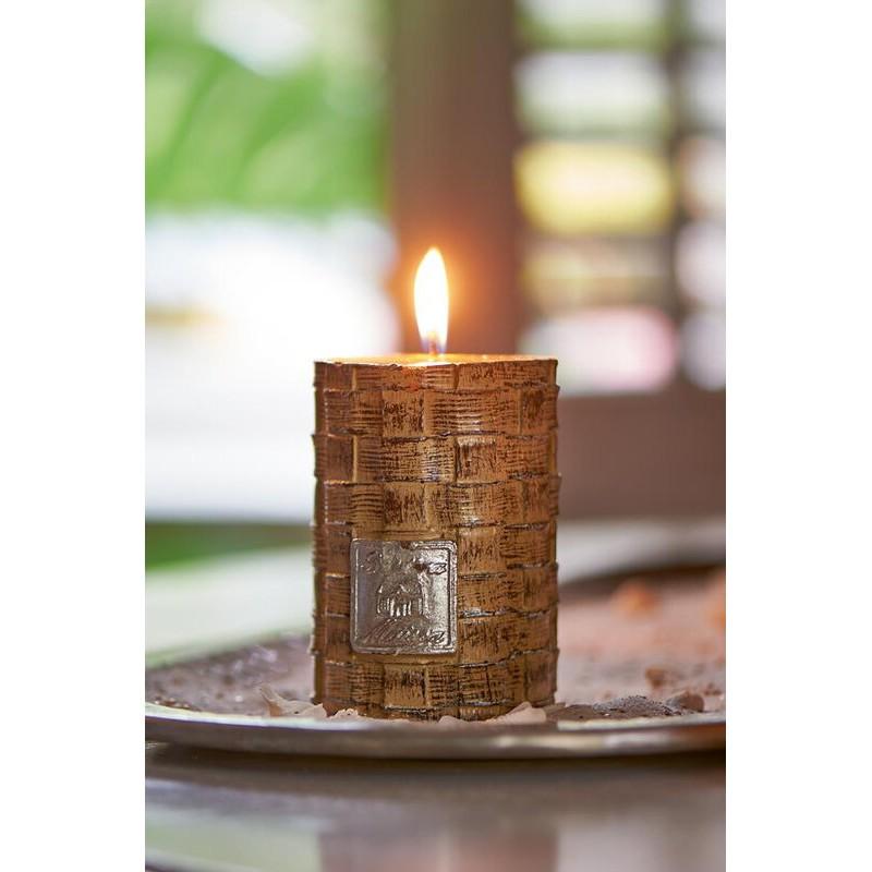 Świeca / Rustic Straight Weave Candle 7x10-627